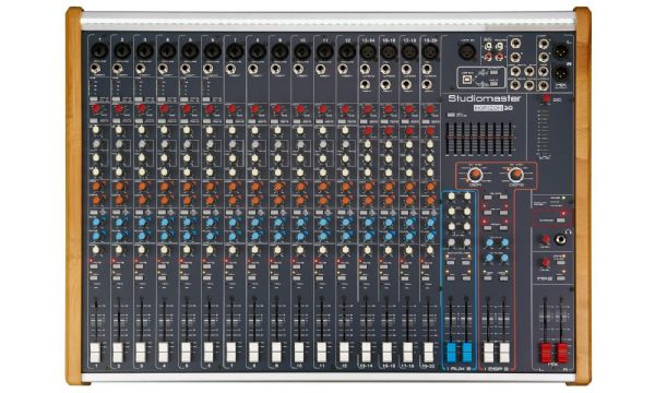 STUDIOMASTER HORIZON 20 – 20 CHANNEL PASSIVE PA MIXER - Unpowered